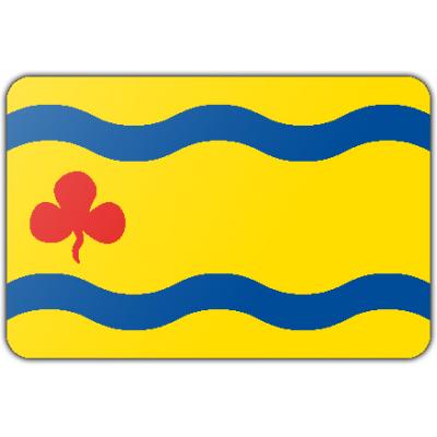 Gemeente Hardenberg vlag (150x225cm)