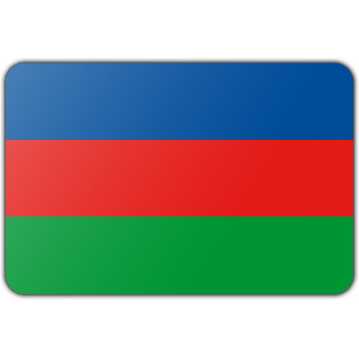 Gemeente Hellevoetsluis vlag (70x100cm)