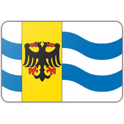 Gemeente West Maas en Waal vlag (150x225cm)