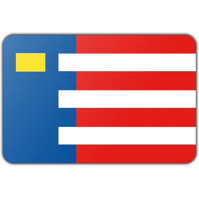 Gemeente Baarle-Nassau vlag (200x300cm)