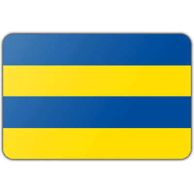 Gemeente Leeuwarden vlag (150x225cm)