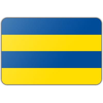 Gemeente Leeuwarden vlag (200x300cm)