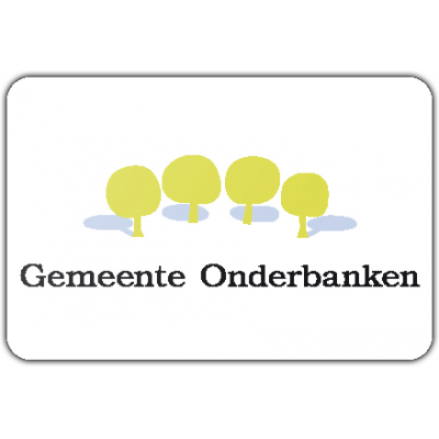 Gemeente Onderbanken vlag (100x150cm)