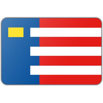 Gemeente Baarle-Nassau vlag (70x100cm)