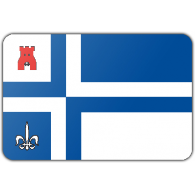 Gemeente Noordoostpolder vlag (200x300cm)
