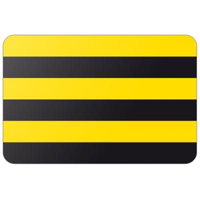 Gemeente Schiedam vlag (70x100cm)