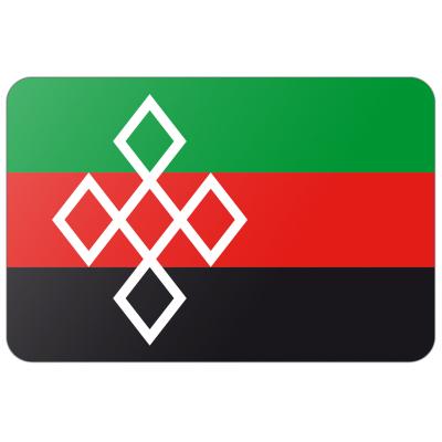 Gemeente Rucphen vlag (150x225cm)