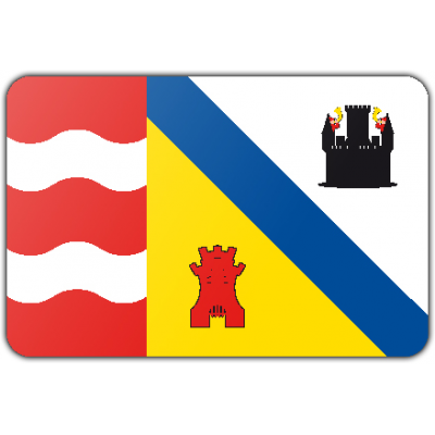 Gemeente Sluis vlag (150x225cm)