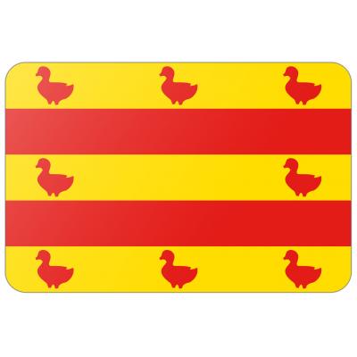 Gemeente Cuijk vlag (150x225cm)