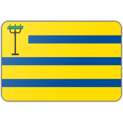 Gemeente Oostzaan vlag (150x225cm)