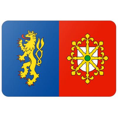 Gemeente Mook en Middelaar vlag (150x225cm)