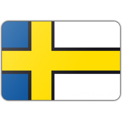 Gemeente Bedum vlag (70x100cm)