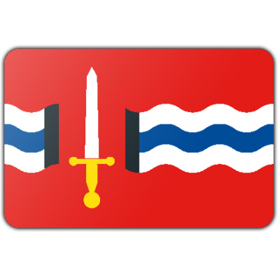 Gemeente Reimerswaal vlag (100x150cm)