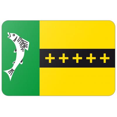 Gemeente Woudrichem vlag (200x300cm)