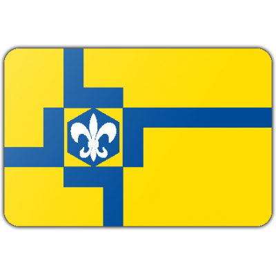 Gemeente Lelystad vlag (150x225cm)