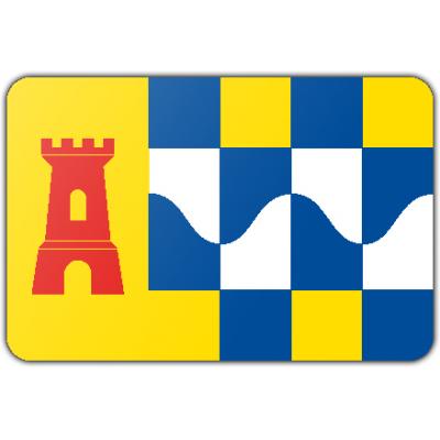 Gemeente Overbetuwe vlag (70x100cm)