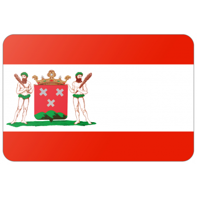 Gemeente Bergen op Zoom vlag (70x100cm)