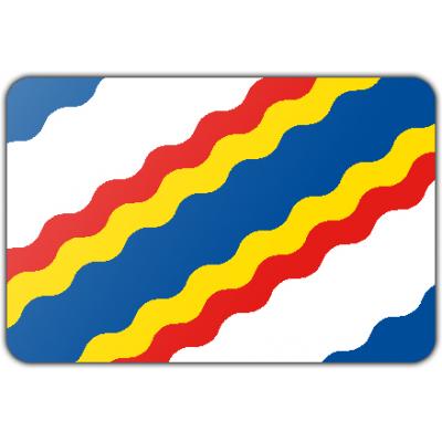 Gemeente Ten Boer vlag (200x300cm)