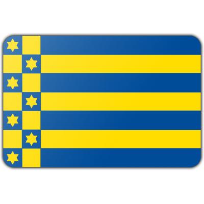 Gemeente Ferwerderadiel vlag (150x225cm)