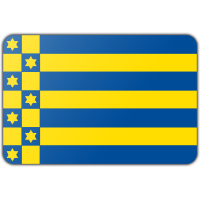 Gemeente Ferwerderadiel vlag (200x300cm)