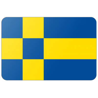 Gemeente Tilburg vlag (200x300cm)
