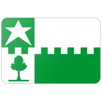 Gemeente Stede Broec vlag (200x300cm)