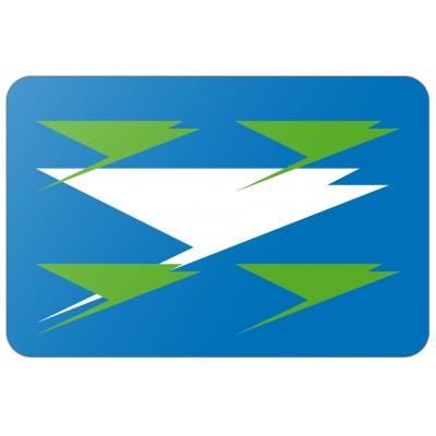 Gemeente Zuidhorn vlag (200x300cm)
