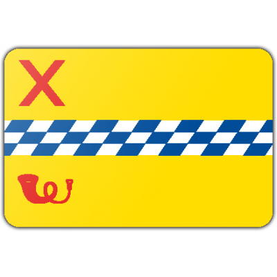 Gemeente Woerden vlag (70x100cm)