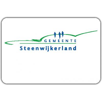 Gemeente Steenwijkerland vlag (150x225cm)