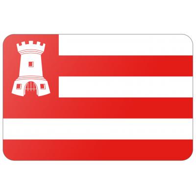 Gemeente Alkmaar vlag (100x150cm)