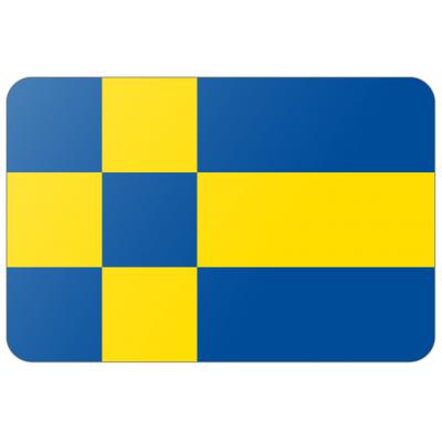 Gemeente Tilburg vlag (150x225cm)
