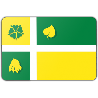 Gemeente Hof van Twente logovlag vlag (70x100cm)