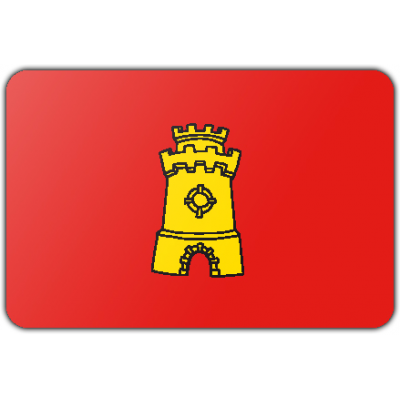 Gemeente Middelburg vlag (70x100cm)