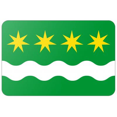 Gemeente Winsum vlag (200x300cm)