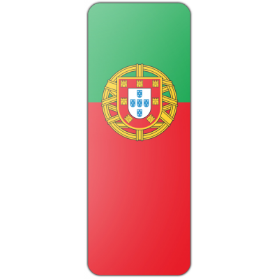 Internationale banier Portugal (300x100cm)