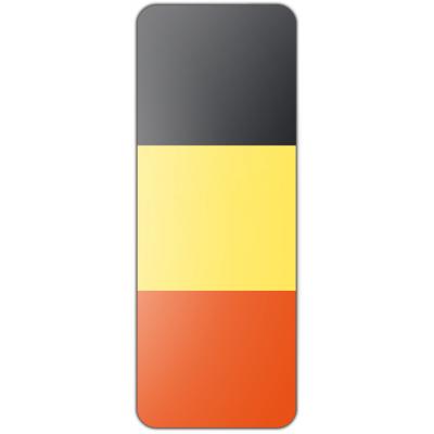 Internationale banier België (300x100cm)