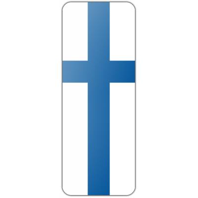 Internationale banier Finland (300x100cm)