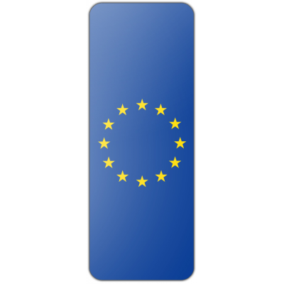 Internationale banier Europese Unie (300x120cm)