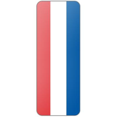 Internationale banier Nederland (300x100cm)
