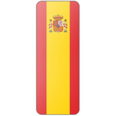 Internationale banier Spanje (300x100cm)