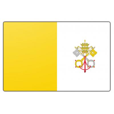 Vaticaanstad vlag (200x300cm)