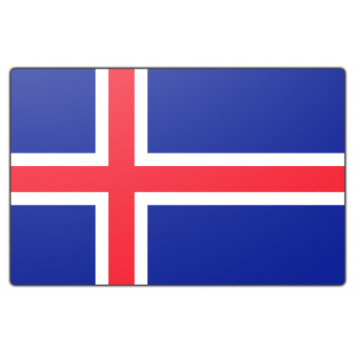 IJsland vlag (100x150cm)