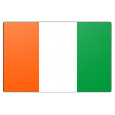 Ivoorkust vlag (100x150cm)