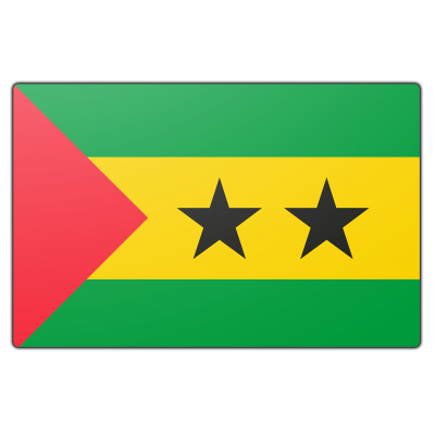 St. Tomé en Principe vlag (100x150cm)
