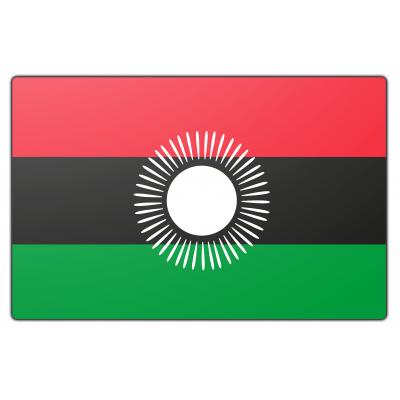Malawi vlag (200x300cm)