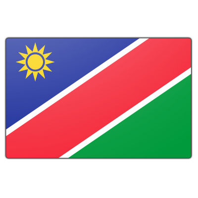 Namibië vlag (70x100cm)