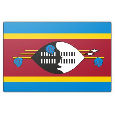 Swaziland vlag (200x300cm)