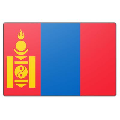 Mongolië vlag (70x100cm)