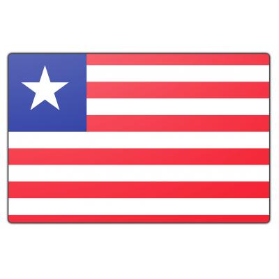 Liberia vlag (70x100cm)