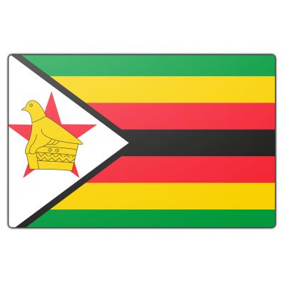 Zimbabwe vlag (70x100cm)